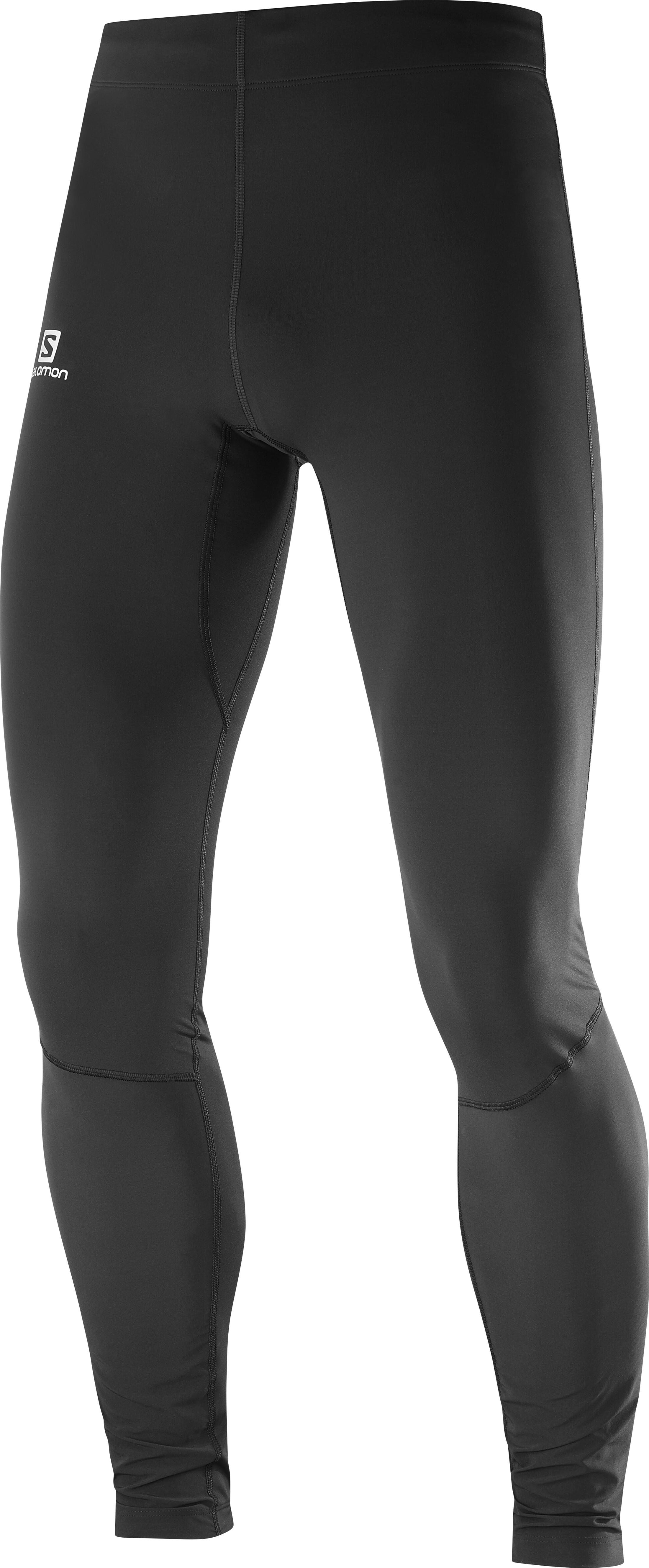 2c8a5ac335a Salomon Agile Warm Pantalon running Homme, black sur CAMPZ !